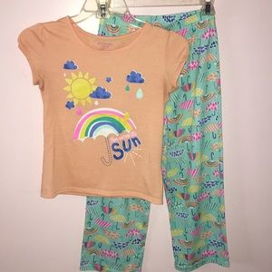 """HERE COMES THE SUN"" SLEEPWEAR SET"